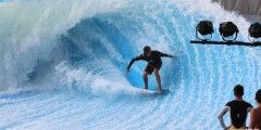 Серфинг в Бангкоке  Flow Rider  Авиабилеты Москва - Бангкок от 24000 руб.  Flow Rider является устройством с искусственной волной и пляжным клубом в самом центре Бангкока. Здесь можно весело провести время всей семьей поддерживая хорошую физическую форму и одновременно обучаясь новому виду спорта. Flowriding объединяет серфинг и вейкбординг на надувной рампе по которой под высоким напором течет тонкий слой воды чтобы имитировать постоянную волну.  Закажите индивидуальный тур по Бангкоку с…