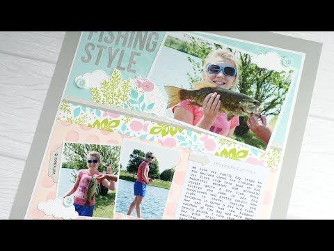 MFT Card Challenges: Tips, Tutorials, & Techniques - Creating a Scrapbook Layout