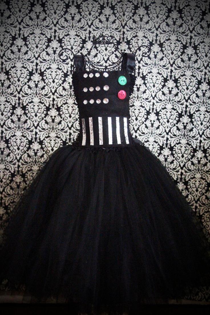 Darth Vader Tutu Dress by FrostingShop on Etsy: Dresses Wedding, Wedding Dressses, Darth Vader, Halloween Costumes, Tutu Dresses, Stars Wars, Vader Dresses, Prom Dresses, Vader Tutu