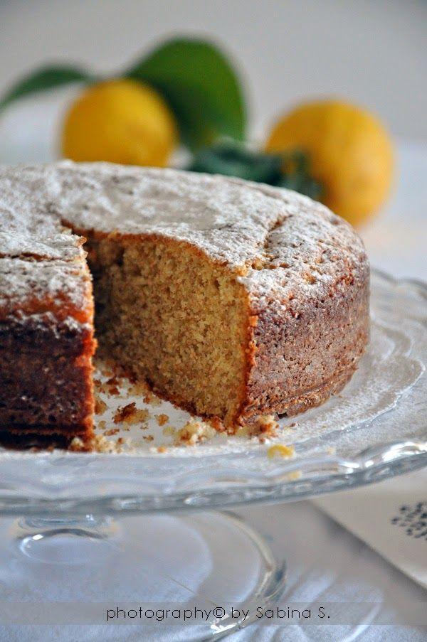 Torta soffice con ricotta e limone