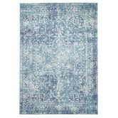 Found it at Temple & Webster - Blue Art Moderne Cezanne Rug