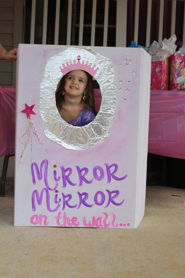 princess party photo booth (Ava's 3rd royal ball party)
