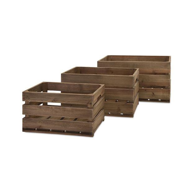 Farmhouse Crates   Set Of 3 #LuckOfThePin
