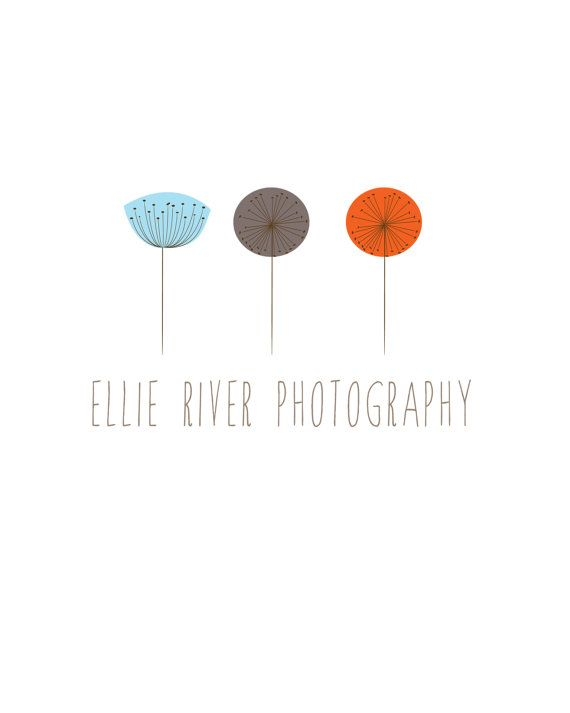 ellie river photography logo - like the simple yet colorful design