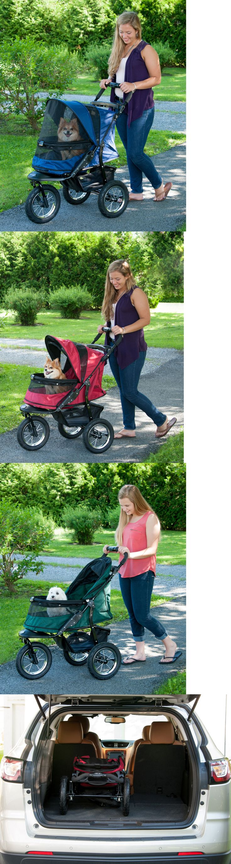 Strollers 116380: New! Pet Gear Jogger No-Zip Dog Cat Stroller With Easy-Locking Latch -> BUY IT NOW ONLY: $224.95 on eBay!