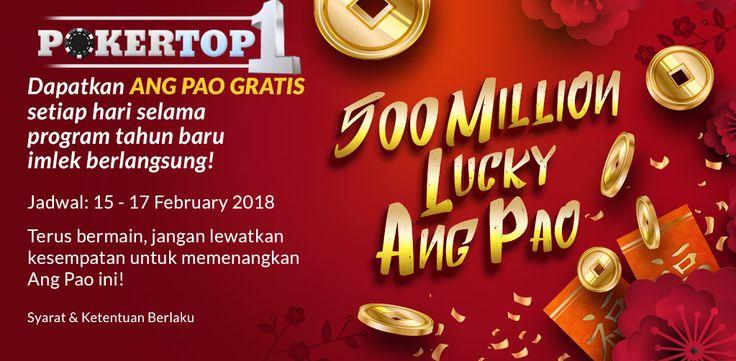 Pokertop1 Berbagi Ang Pao Dan T-Shirt Limited Edition
