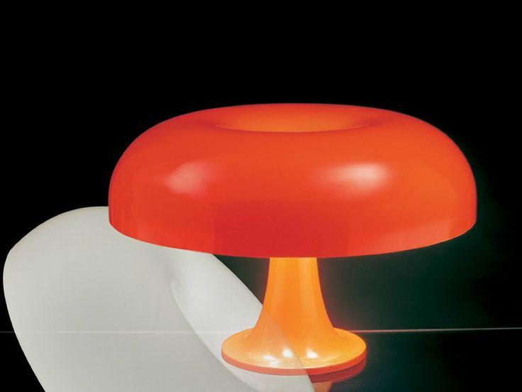 Lampada da tavolo in ABS NESSO Collezione Modern Classic by ARTEMIDE | design Giancarlo Mattioli, Gruppo architetti urbanisti città nuova