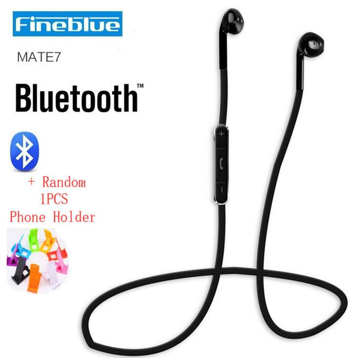 Fineblue Mate7 Stereo Blutooth Headset Wireless Earphone Auriculares Answer Call Listen Music Sport Headphone for Running Fone