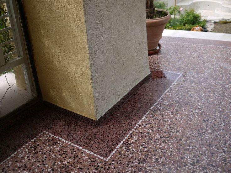 Fugenloser terrazzo terrazzo terrazzodesign flooring terrazzoflooring