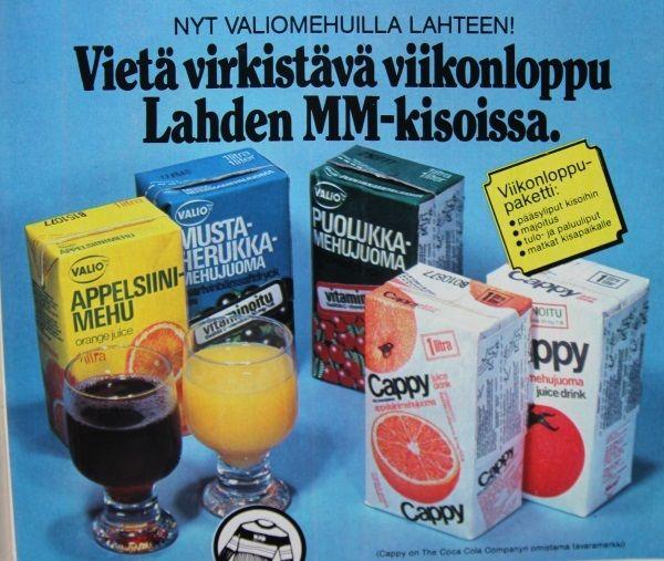 Valiomehut, mainos 1978