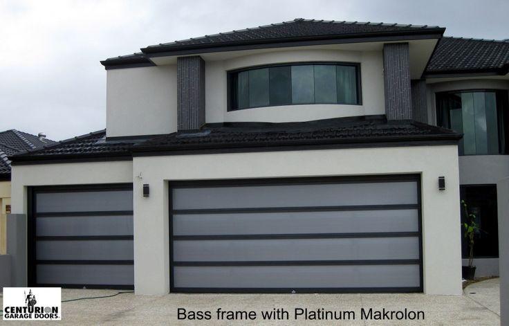 29 best garage inspiration images on pinterest black for Platinum garage doors