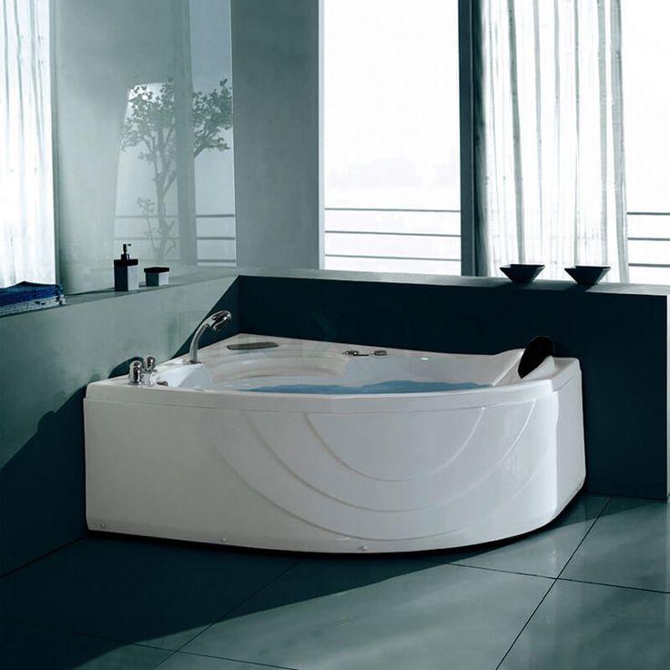 Die besten 25+ Eckbadewanne mit whirlpool Ideen auf Pinterest - badezimmer komplettpreis awesome design
