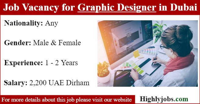 Job Vacancy For Graphic Designer In Dubai Photoshop Essentials Dubai Job