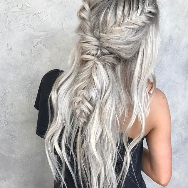 Ice, Ice Baby •• Braid by ME •• Color by @hairby_chrissy