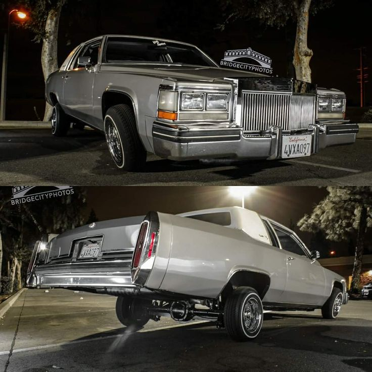Custom Cadillac Deville For Sale: 85 Cadillac Coupe DeVille Low Low.........