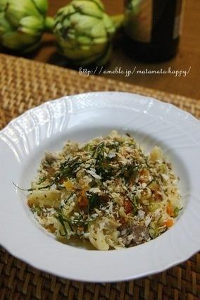 オレンジブランデー香るシチリアパスタ、さんまとフェンネルのカサレッチョ  レシピブログ  http://www.recipe-blog.jp/profile/15212/blog/12675020