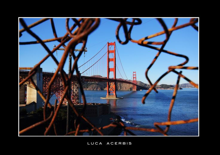 Photographer Luca Acerbis. From San Francisco. Golden Gate Bridge