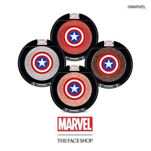 Quero todas essas sombras com o brasão do Capitão América pq estão lindas e geeks demais :)