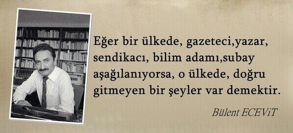 Bülent ECEVİT ...