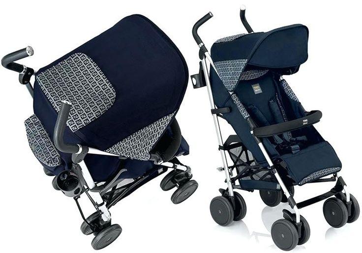 Fendi Baby Kinderwagen Blau Kinderwagen Detail Fendi Baby ...