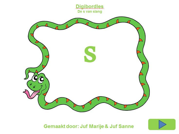 De 's van slang'