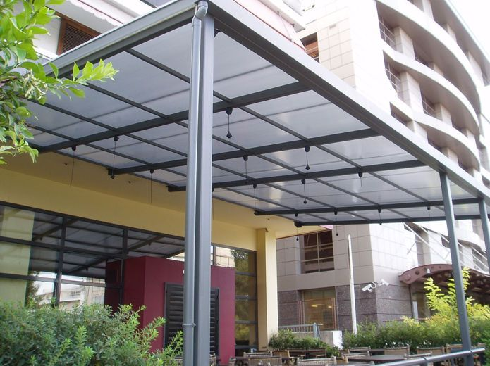 The Latest Arrivals Of Lexan Multiwall Polycarbonate Sheets Backed By 10 Years Limited Warranty Against Loss Of Li Outdoor Pergola Pergola On The Roof Pergola