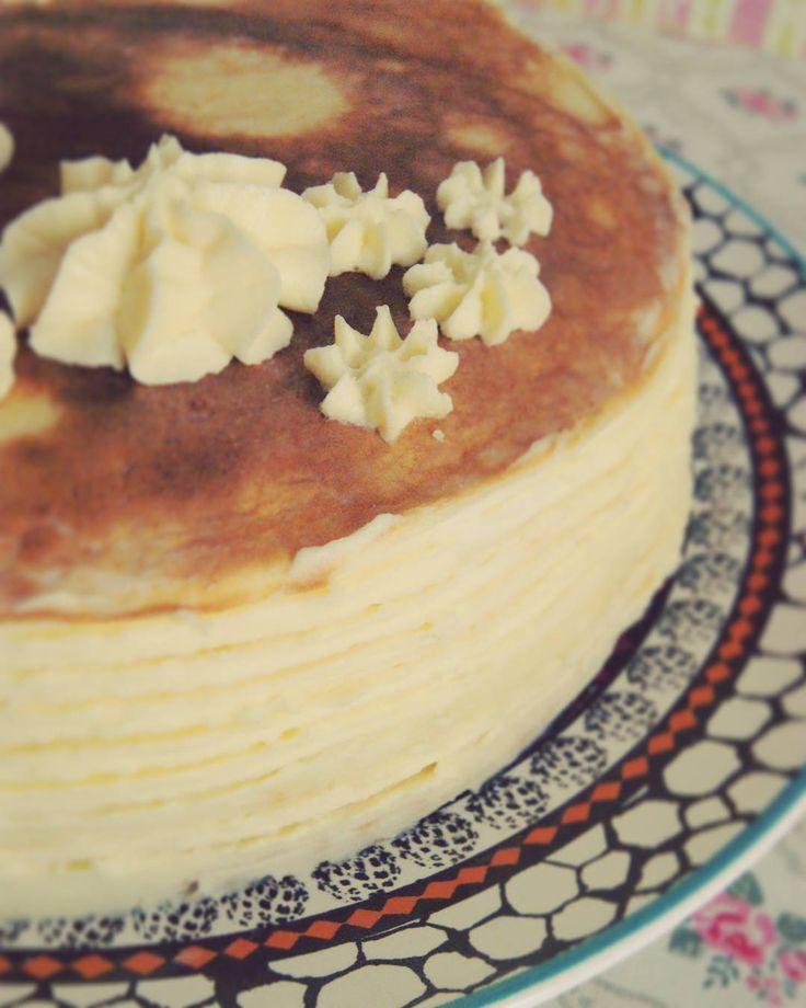 Блинный торт #готовим_с_alenakogotkova #торт #блины #вкусно #заварнойкрем #десерт #кпразднику #вкусно #выпечка #cake #dessert #delicious #food #crepe #еда #alenakogotkovacom #блинныйторт