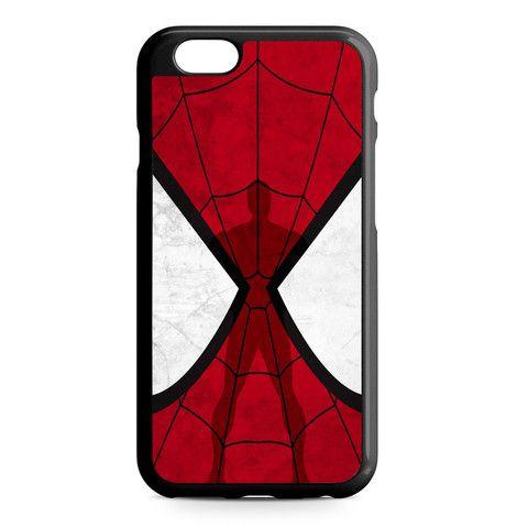 Amazing Spiderman Mask iPhone Heavy Duty Case