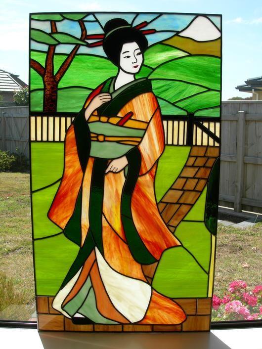 A Geisha Lady - Delphi Artist Gallery