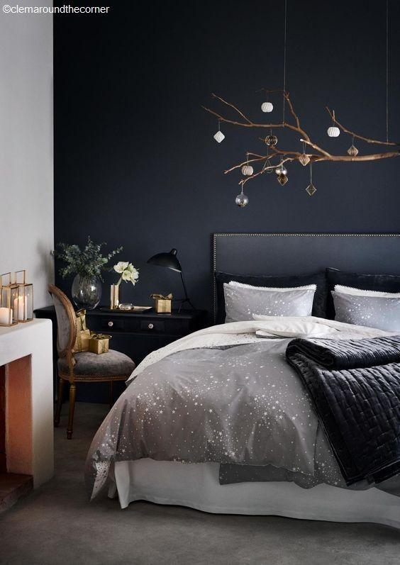 Évitez les couleurs chaudes ou sombres dans votre chambre à coucher ...
