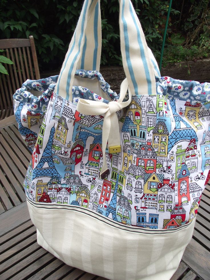 Knitting Project Bags To Sew : Knitting project bag sew pinterest