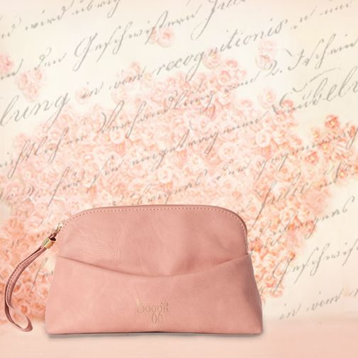 The softness of every rose petal has inspired the designers at #Baggit to deliver the smoothness through the material used to create this pretty #pouch. #inspiration #pastels #rosepink