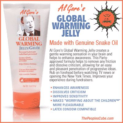 OBAMA CARTOONS: Conservative Political Humor: Al Gore's Global Warming Jelly