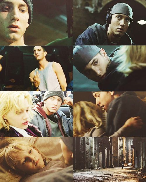 8 Mile ♥ ♥ ♥ love this movie  but it made me hate Brittney Murrphy as an actress -_-