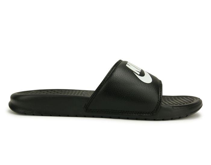 Nike Men's Benassi JDI Sandal Black/White