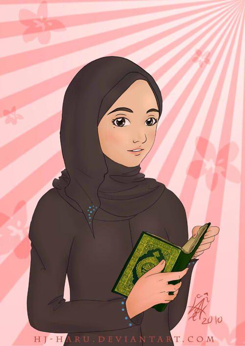 Muslim girl by HJ-Haru