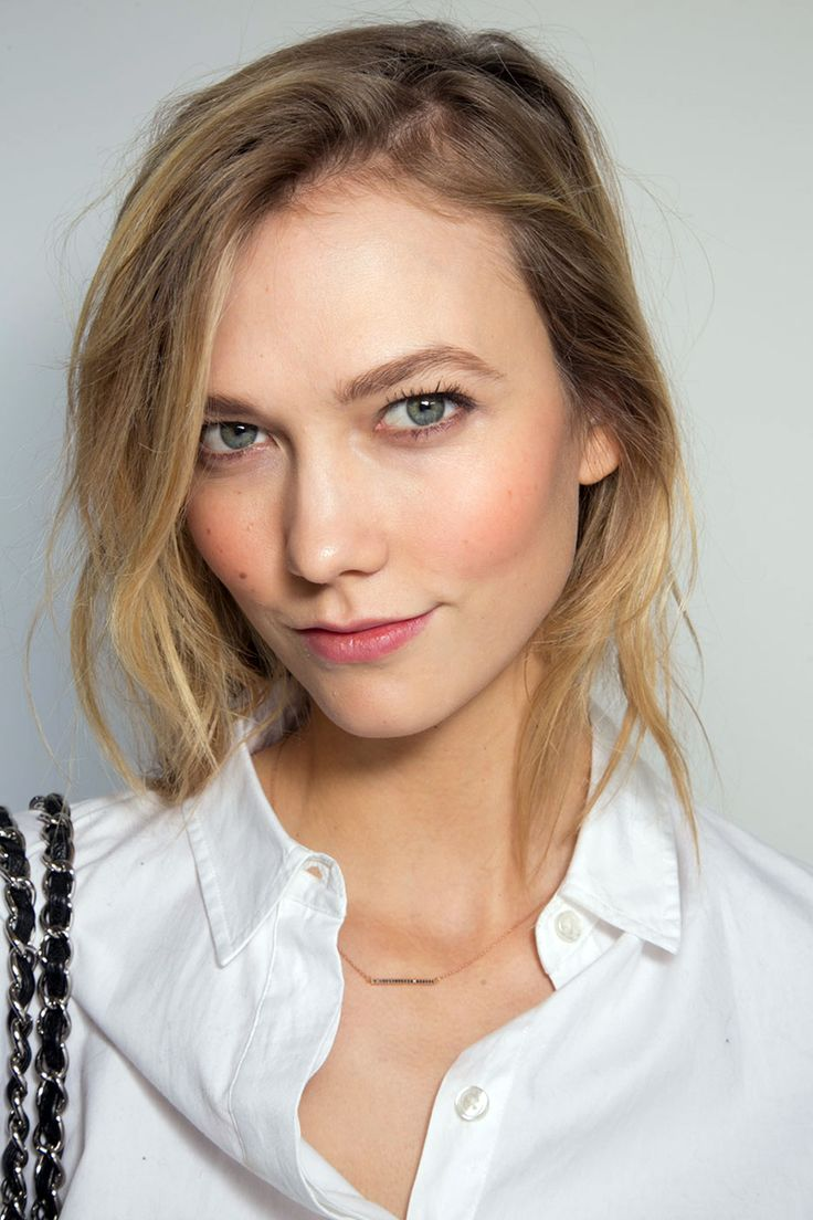 Fall 2015 Makeup Trends. In this photo Karlie Kloss
