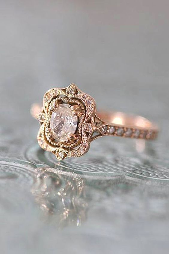 Vintage engagement ring  Best 25+ Antique engagement rings ideas only on Pinterest ...