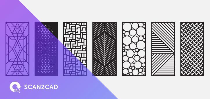 Stunning Door Designs | Free DXF Files | Scan2CAD | x | Door