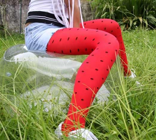 Polka Dot Tights-  ALL DIFFERENT COLORS