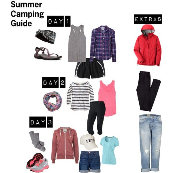 Honestly camping wardrobe planning seems silly but these are cute outfits