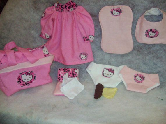 Hello Kitty Baby Alive Doll Playset w by TeenyTinyTailorShop, $34.99