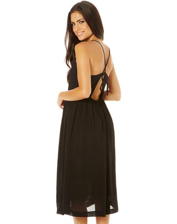 Strappy Back Midi Dress