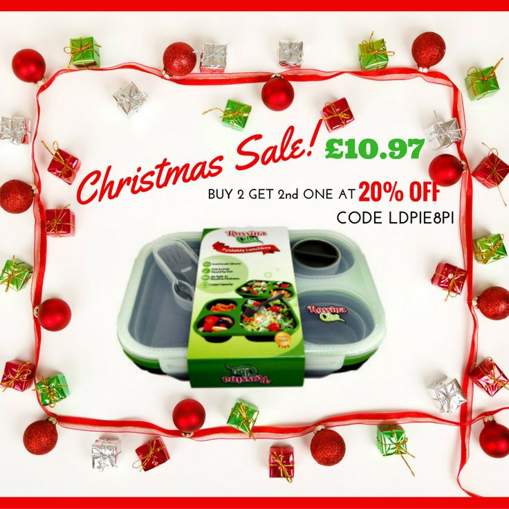 Have A Blessed Merry Christmas Everyone!☃️ #lunchbox #men #women #kids #family #gifts #savemore #sale  Shop Sale With Up to 58% Off https://www.amazon.co.uk/Rossina-Cibo-Collapsible-Compartments-Lunchbox/dp/B00ZVFFDDI