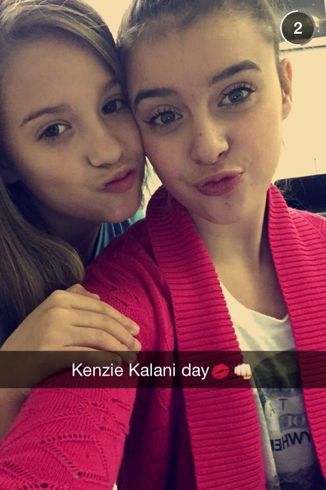 Kalani and Mackenzie day