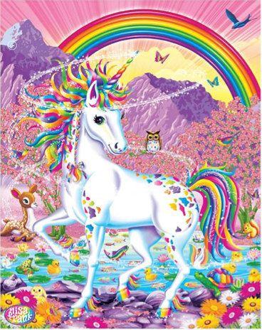 Lisa frank Portfolio Rainbow mischief design by PoniesAndPets