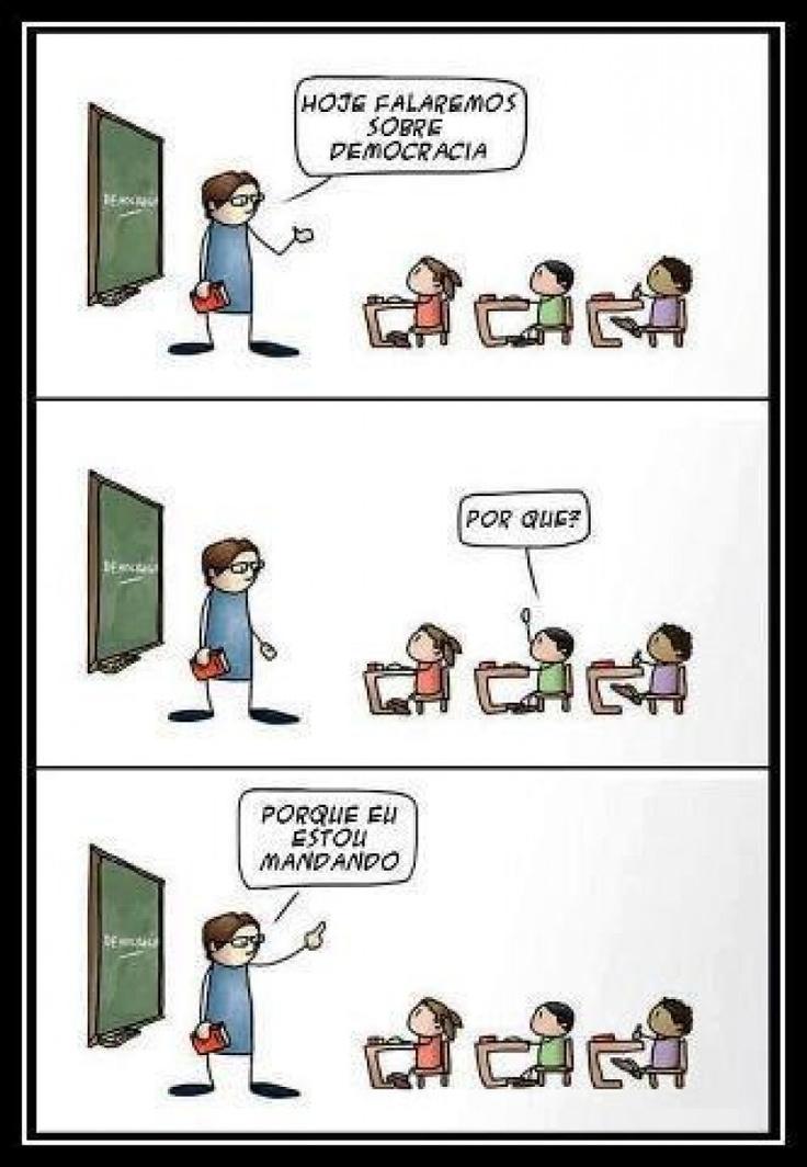 Democracia na sala de aula