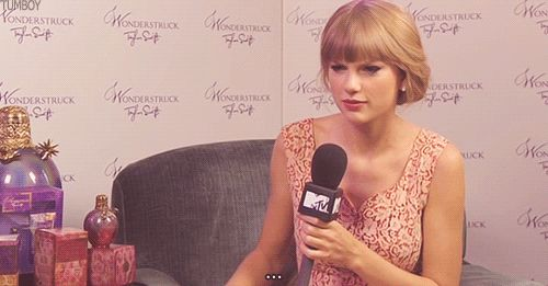 <3 you Taylor. | 23 Times Taylor Swift Was So Adorably Awkward You Wished She Was Your BFF