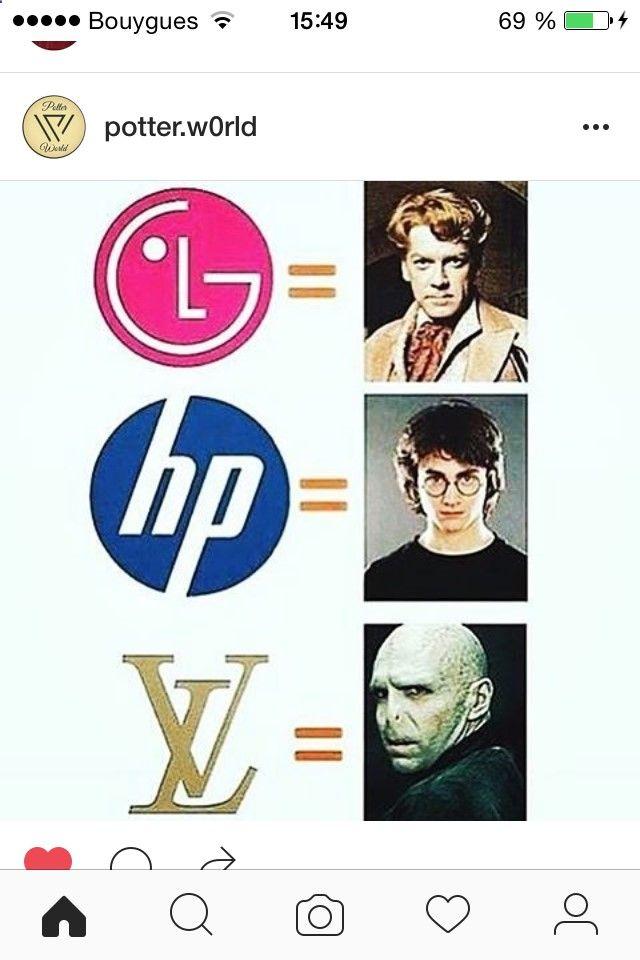Le monde bien sorcier des logos...Harry Potter au pouvoir !