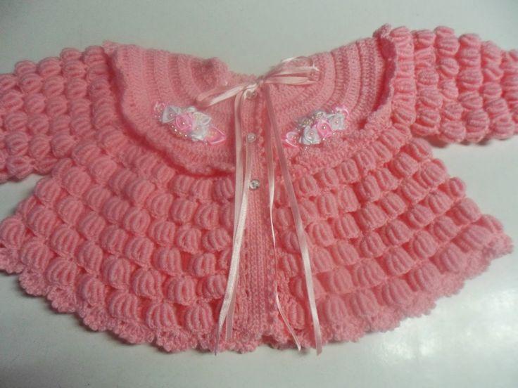 Mary Helen artesanatos croche e trico: casaquinhos e conjuntos bebe crochê